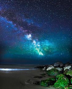 photography rock landscape water nature beach sand ocean sea milky way star rocks Astronomy astrophotography vertical rocky stars astro Beautiful Sky, Beautiful World, Beautiful Pictures, All Nature, Science And Nature, Nature Beach, Cosmos, Ciel Nocturne, To Infinity And Beyond