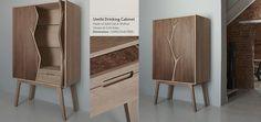 Umthi Drinks Cabinet by Meyer Von Wielligh | Furniture Designers | Garden Route