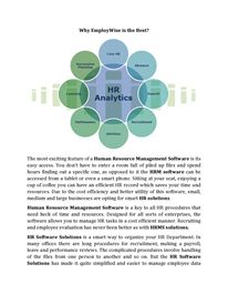 Why EmployWise is the Best? Hr Management, Life Cycles, Let It Be