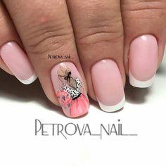 Дизайн ногтей тут! ♥Фото ♥Видео ♥Уроки маникюра Nail Art Designs Videos, Cute Nail Art Designs, French Nail Designs, Chic Nail Art, Chic Nails, Nail Swag, Fancy Nails, Trendy Nails, Paris Nails