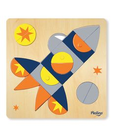 Take a look at this Spaceship Multi-Solution Puzzle Set on zulily today!