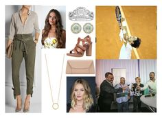 """""""Opening the Croatian Open ATP Tennis tournament"""" by hrh-amelia-of-croatia ❤ liked on Polyvore featuring Band of Outsiders, Modern Bride, Kiki mcdonough, Carvela, Valextra, Jennifer Zeuner and Whiteley"""