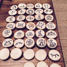 My sami runes Viking Culture, Lappland, Color Feel, Indigenous Art, Scandinavian Design, Wood Carving, Wicca, Vikings, Arts And Crafts