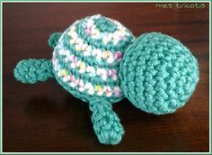 Amigurumi tortue