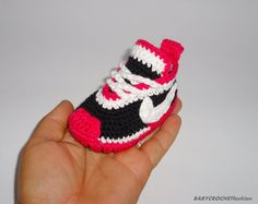 Baby Sneakers Baby Crochet  Sneakers Baby by BABYCROCHETfashion
