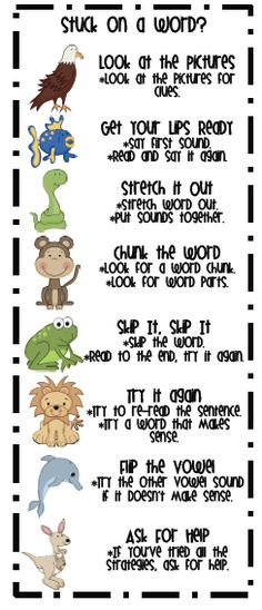 reading strategy bookmark- goes with strategies from dr duerr