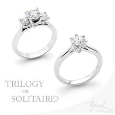 Which York Jewellers engagement ring would you choose?