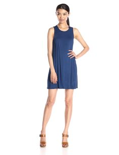BCBGeneration Women's Side Pintucked A Line Dress