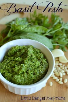 I have always loved Pesto.  This one is the best!!