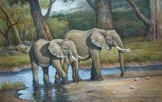PAINTGINGS OF ELEPHANT - Google Search