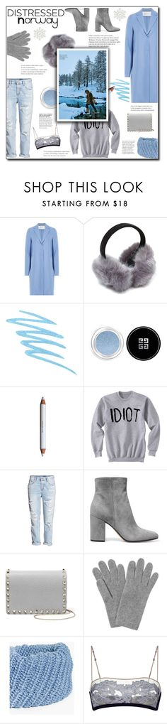 """""""Distressed Norway"""" by w-wildroses-s ❤ liked on Polyvore featuring Harris Wharf London, Mally, Givenchy, shu uemura, Gianvito Rossi, Valentino, L.K.Bennett and Boohoo"""