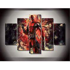 5 Piece Deadpool Canvas LIMITED EDITION
