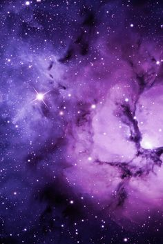 Purple Nebula | Purple Nebula | Simply beautiful iPhone wallpapers