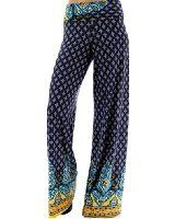 Women's High Waist Slinky Stretchy Palazzo Pants at Amazon Women's Clothing store