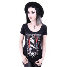 Wednesday Addams T-shirt black