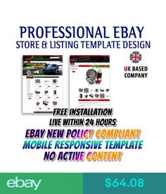 Our new #eBay #Store #Design and Auction #Listing #Template Packages ...