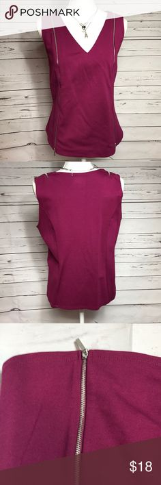 🌹Just in - Lane Bryant sleeveless top, 14/16 Lane Bryant sleeveless top, 14/16, maroon/eggplant color Lane Bryant Tops