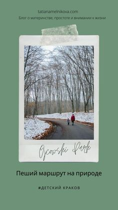 ojtsovskij-park-trassa-dlja-koljaski-kuda-shodit-v-krakove-park-s-rebenkom-blog-tatjany-melnikovoj Snow, Park, Outdoor, Outdoors, Parks, Outdoor Games, The Great Outdoors, Eyes, Let It Snow