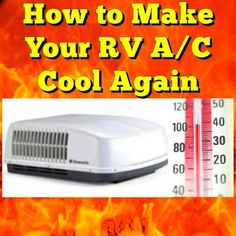How to Make Your RV A/C Cool Again: When it is 102 outside m temperature inside is 85. Is this normal and if not what can I do about it? ANSWER: Hi Lewis, Unfortunately RV Air Conditioners
