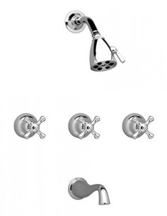 three handle tub and shower faucet. Three Handle Tub and Shower Set bathroom shower fixture sets  My Web Value