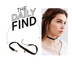 """""""The Daily Find: Urban Outfitters Choker"""" by polyvore-editorial ❤ liked on Polyvore featuring DailyFind"""