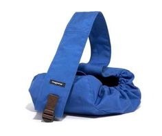 Wagwear Messenger Pouch Dog Carrier in Royal Blue available at www.ZoePetSupply.com