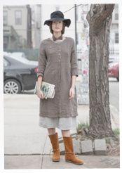 """Kleid """"Line"""" aus Leinen"""