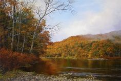 Liquid Amber by Andrew Orr Oil ~ 16 x 24