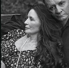 June Carter Cash and Johnny Cash (2001).