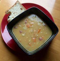 A simple warming, filling soup for winter days. Ingredients: 2 cups of dried yellow split peas, washed and soaked in water overnight 5 or 6 cups of water 1 large onion, chopped 3 carrots, chopped small 1 small turnip cut into small cubes Salt and pepper to taste Place the split peas in a large …