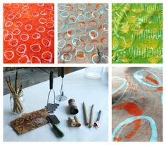 DIY: Dye and Wax Resist on Fabric