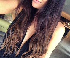 First aflutter in Vogue forums in 2005, balayage is the most popular hair coloring request in salons today. See more balayage beauty at http://www.pinterest.com/TruckSchoolInfo #balayage #haircolor #hairstyles #trendyfashion #beauty
