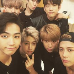 Got7 // JB, Jackson, Mark, BamBam, Jr, Youngjae, and Yugeom