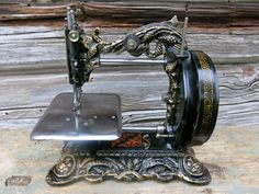 """1870's Newton Wilson """"Princess of Wales"""" Sewing Machine Fully Working Condition   eBay"""