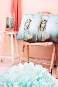 Inside the Bridget Ellery Design Studio, The Tannery, Christchurch, New Zea; New Zealand, Throw Pillows, Studio, Design, Products, Toss Pillows, Cushions, Decorative Pillows