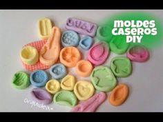 como hacer moldes flexibles *caseros
