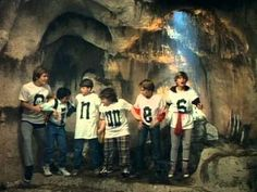 Music video by Cyndi Lauper performing The Goonies 'R' Good Enough. (C) 1985 Sony BMG Music Entertainment