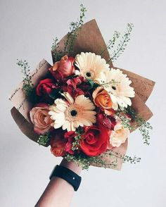 flower bouquet images, image search, & inspiration to browse every day. My Flower, Wild Flowers, Beautiful Flowers, No Rain, Flower Aesthetic, Jolie Photo, Planting Flowers, Floral Arrangements, Wedding Flowers