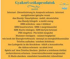 Mobiles Internet, German Language Learning, German Language, Learn German, Knowledge, School