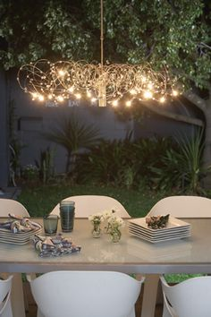 Add some sparkle to your outdoor entertainment area this spring | Egyptian Crystal Pendant | http://www.eurolux.co.za/fittingsproductdetail.php?fit_id=317&opt_id=567&tag_id=1