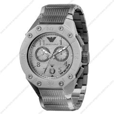 Emporio Armani Men Chronograph 45mm Watch AR0667