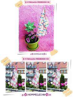 ✂ Mein Fähnschn FREEBOOK ✂   ✂ ...für EUCH..pimpt EUCH den Balkon oder Garten  :)  ...selber machen ist angesagt ;)   ...HIER bekommt IHR mein FÄHNSCHN FREEBOOK :)  <3 klick <3 ✂ <3 http://hummelschn.blogspot.de/2015/05/fahnschn-freebook.html