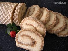 Roláda s karamelovo-kokosovou náplňou  (fotorecept)