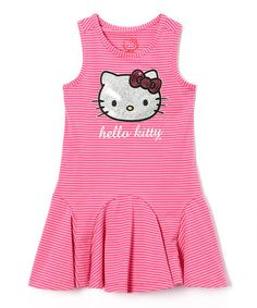 Look what I found on #zulily! Carmine Rose Hello Kitty Dress - Girls #zulilyfinds http://www.zulily.com/invite/sruss4420