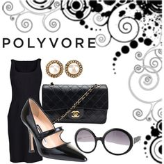 i love polyvore, created by maria-maldonado on Polyvore