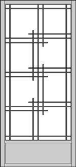 Ordering Stock Shoji Screens in Five Steps Window Grill Design Modern, Grill Door Design, Balcony Design, Window Design, Japanese Door, Japanese Modern, Japanese Interior, Sliding Windows, Sliding Glass Door