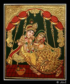 Tanjore Painting by Arul Jegadish