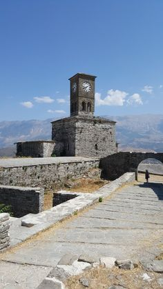 Girokastra castle, Albania