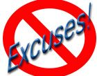 excuses NOT ALLOWED!!!!!
