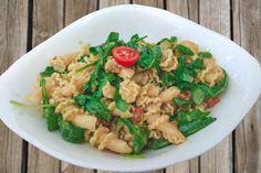 Köstliches Rezept für Pasta mit Avocadocreme und Rucol #pasta #avocado #rucola #vegan